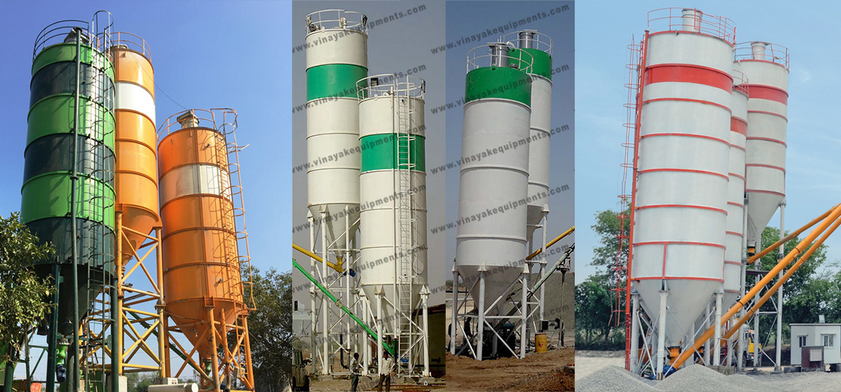 vertical cement silo